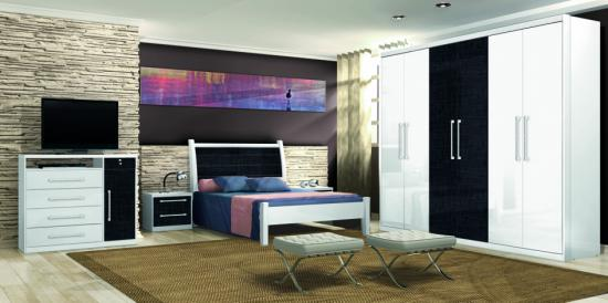 Absoluto Bedroom Set